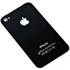 Задняя крышка корпуса для iPhone 4 черная