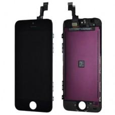 Дисплей в сборе для iPhone 5C (оригинал) черный