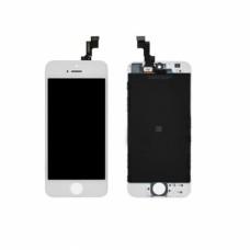 """Дисплей в сборе для iPhone 5S """"AAA"""" белый"""