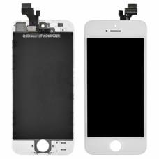 """Дисплей в сборе для iPhone 5 """"AAA"""" белый"""